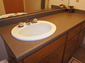 Refinishing Bathroom Vanity Top Vanity Refinishing