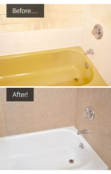 Can You Change Color Of Porcelain Bathtub