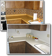 kitchen counter refinishing