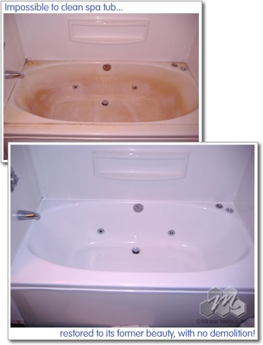 Acrylic Bathtub Repair - Miracle Method
