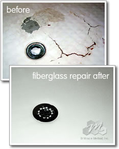 Fiberglass Bathtub & Tile Refinishing, Reglazing, Resurfacing in