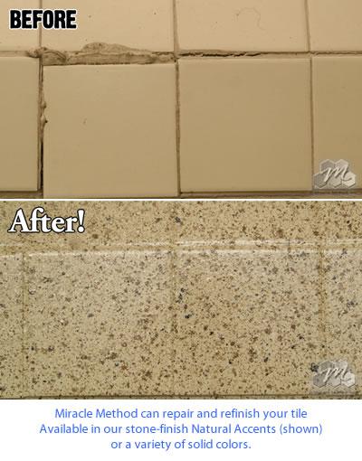 Porcelain Tile Repair Kit - Tile Refinishing