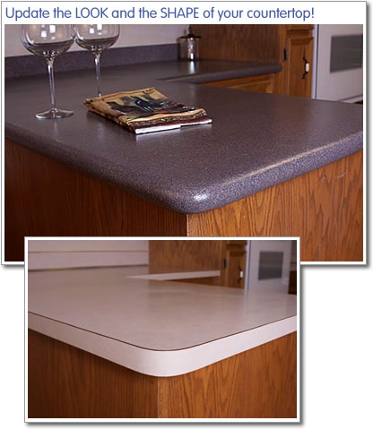 Countertop Bullnose Options : Countertop Edges Related Keywords & Suggestions - Formica Countertop ...