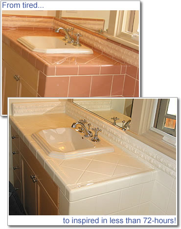 Kitchen Counter Tops on Tile Countertops     Do Your Countertops Need To Be Repaired Or