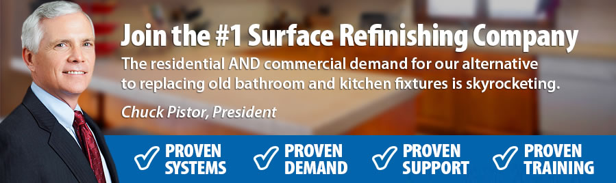 Join the #1 Surface Refinishing Company