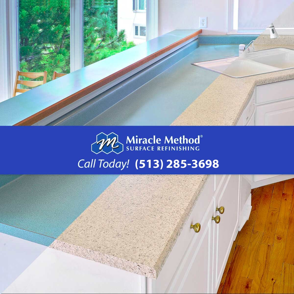 Countertop Refinishing in Hamilton, OH | Miracle Method of Northwest