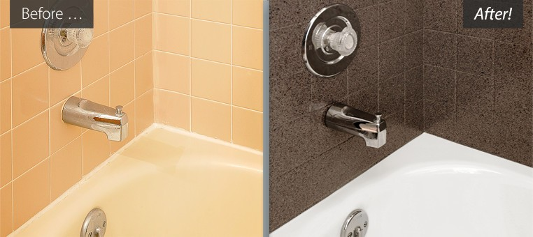 Refinished Bathtubs Countertops Resurfaced Tile Reglazing - Bathroom tile reglazing