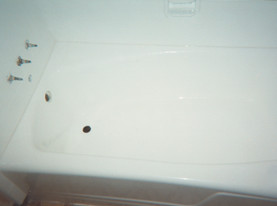 Fiberglass Tub Refinishing - After Transformation