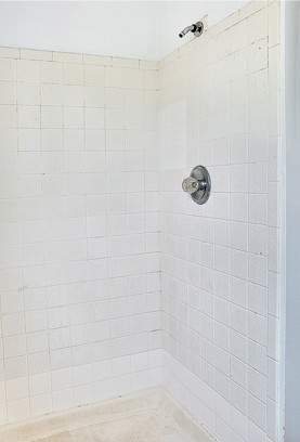 Shower Refinishing   Before Transformation