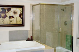 We sell and install quality shower doors