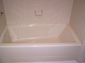 Bath Tub Refinishing After