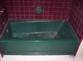 Bath Tub Refinishing Before