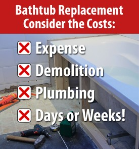 How Much Does It Cost To Replace A Bathtub Cost To Install Tile In - Bathroom tub replacement