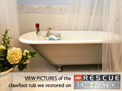 Clawfoot Bathtub Refinishing – Cast Iron Tub Refinishing – Miracle ...