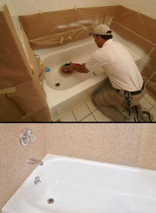 DIY Bathtub Refinishing - Miracle Method