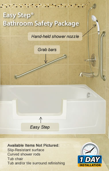 Easy Step Bathroom Safety Package Gorgeous Bathroom Safety For Seniors