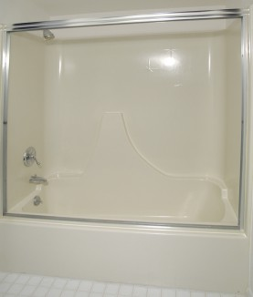 fiberglass bathtub refinishing after - Bathtub