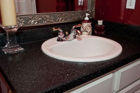 Bathroom Vanity Refinishing After