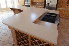 corian silestone countertops before