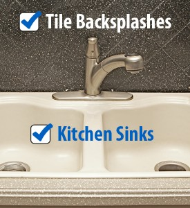 How To Refinish Kitchen Sink kitchen sink refinishing - sink repair