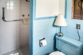 Painting ceramic tile miracle method for Painting bathroom tile before and after