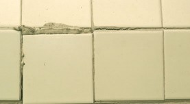 Porcelain Tile Repair Kit Before