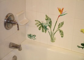 Replacing Bathroom Tile - How to fix bathroom tiles