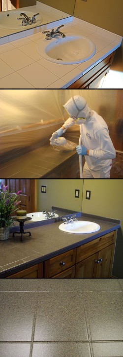 Attirant Steps To Refinishing Your Tile. Surface Refinishing By Miracle Method ...