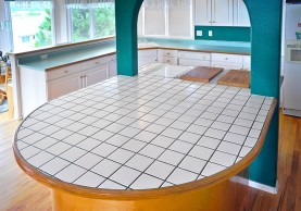 Tile Countertop Miracle Method - Cover ceramic tile countertop