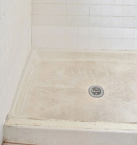 tile inc shower penny pan old school renovations