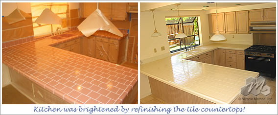 Countertop Paint For Tile : Alf img - Showing > Painting Tile Counter